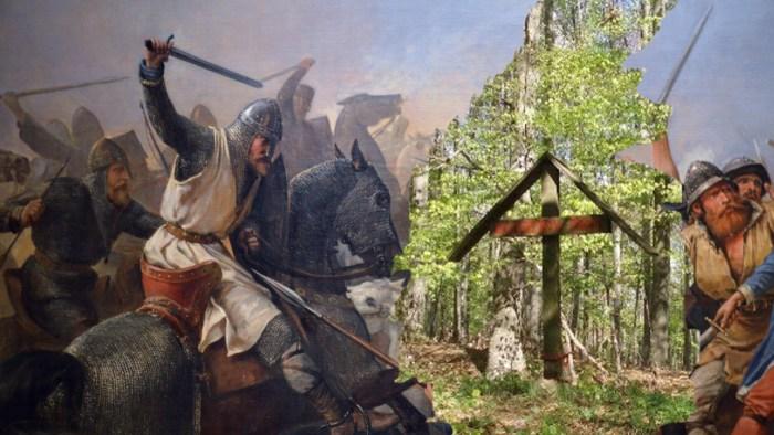 Zbog pjesme, usamljeni križ podsjeća na Belina, plemića i bana zbog izdaje domovine osuđenog da kao vukodlak zavijek luta moslavačkim šumama