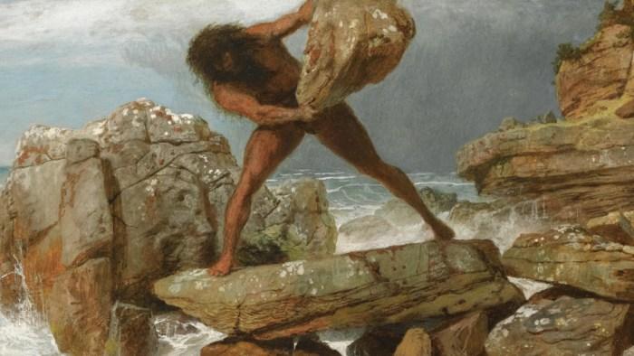 """Uz bilješku o okrutnom pakleničkom kiklopu pjesnik je zapisao: """"Ne znam kako se priča slična Odisejevoj našla u tom velebitskom kraju…"""""""