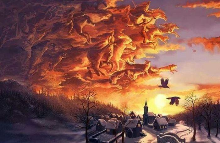 U nuždi, kad stigne zlo i obuzme tama, zazvat će Krsnike, rođenjem odabrane čuvare koji iz sjena služe preostalom dobru ovog svijeta