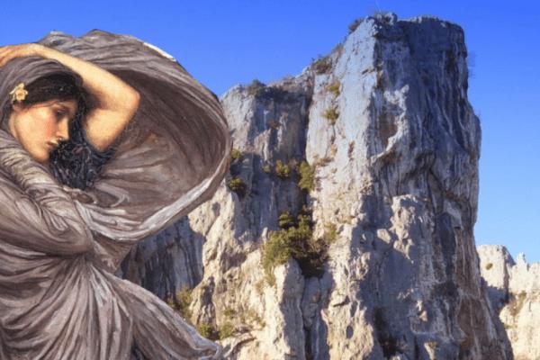 Kroz bezbrojna stoljeća, stijena Gorostas bdije nad izvorom ljekovite vode koja teče zbog ljubavnog zavjeta nesretne djevojke
