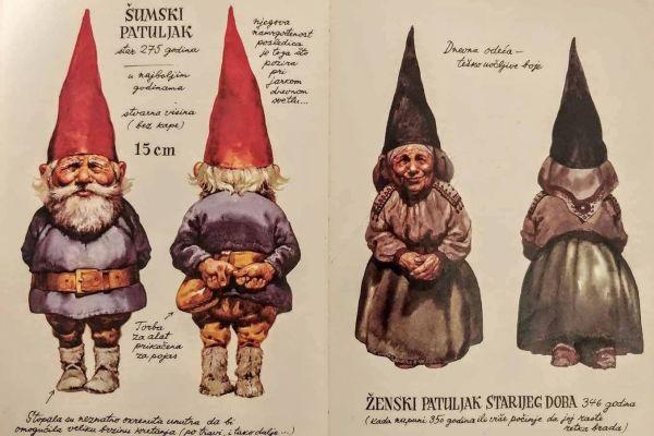 Zovu ga Polovanjek, Palček, Kepec i Malček: on je mitski dobri patuljak koji pod zemljom čuva blago