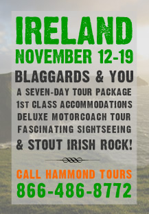 Blaggards Ireland Tour 2011