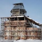 Церковь Илии Пророка в селе Прусы Коломенского района Московской области. 20 января 2012 года
