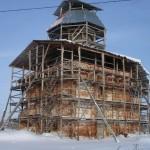 Церковь Илии Пророка в с. Пруссы 20 января 2012 года