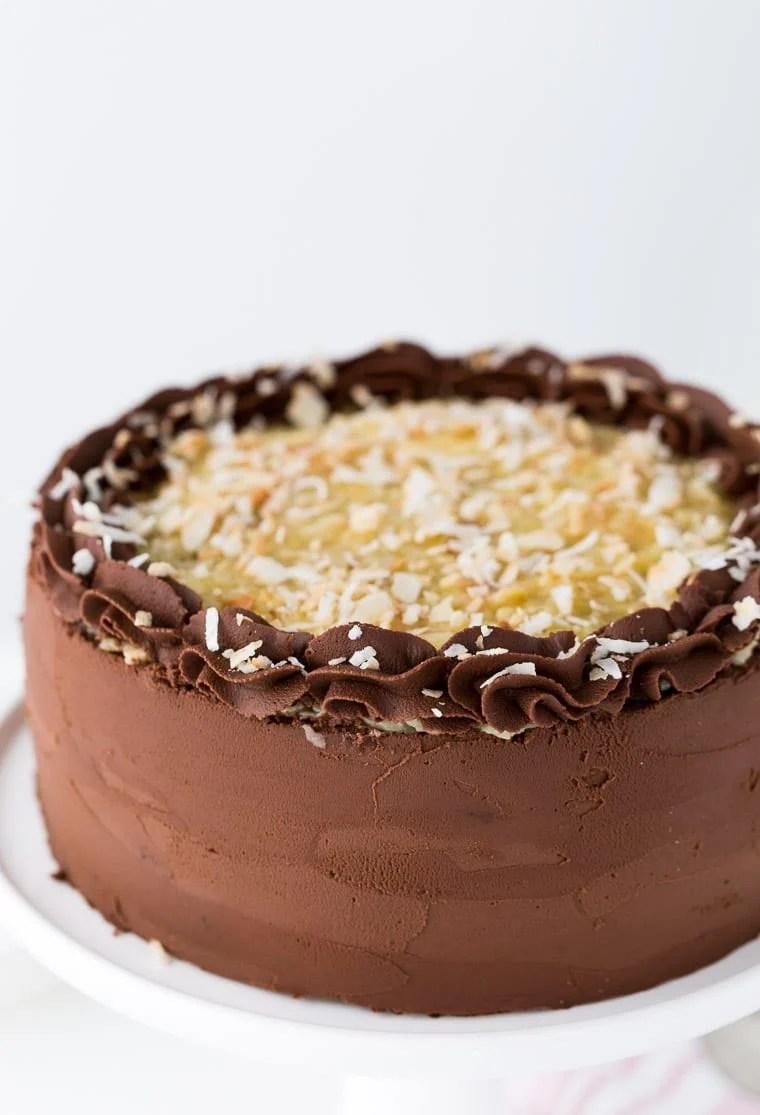 German Chocolate Cake Chocolate Chocolate And More
