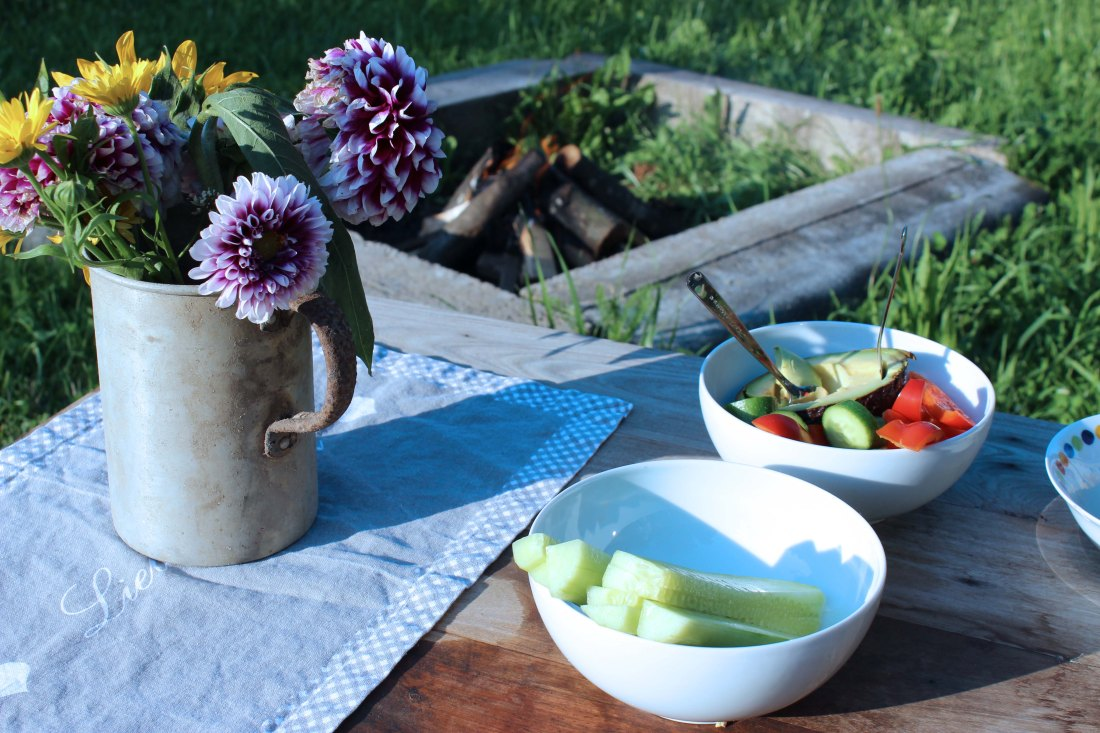 Slow Family // Willkommen am Lagerfeuer – Eine Einladung in unseren Garten