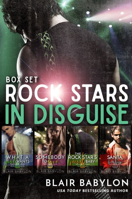 Rock Stars in Disguise: A Boxed Set