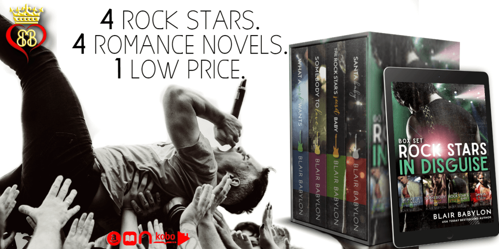 Rock Stars in Disguise Boxed Set by Blair Babylon