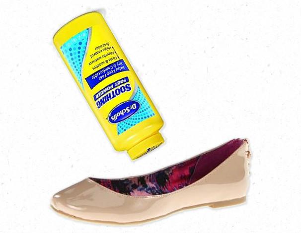 Powder Your Shoes {Making the Mundane Marvelous}   Blair Blogs