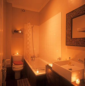 Shower with Candles {Making the Mundane Marvelous}   Blair Blogs