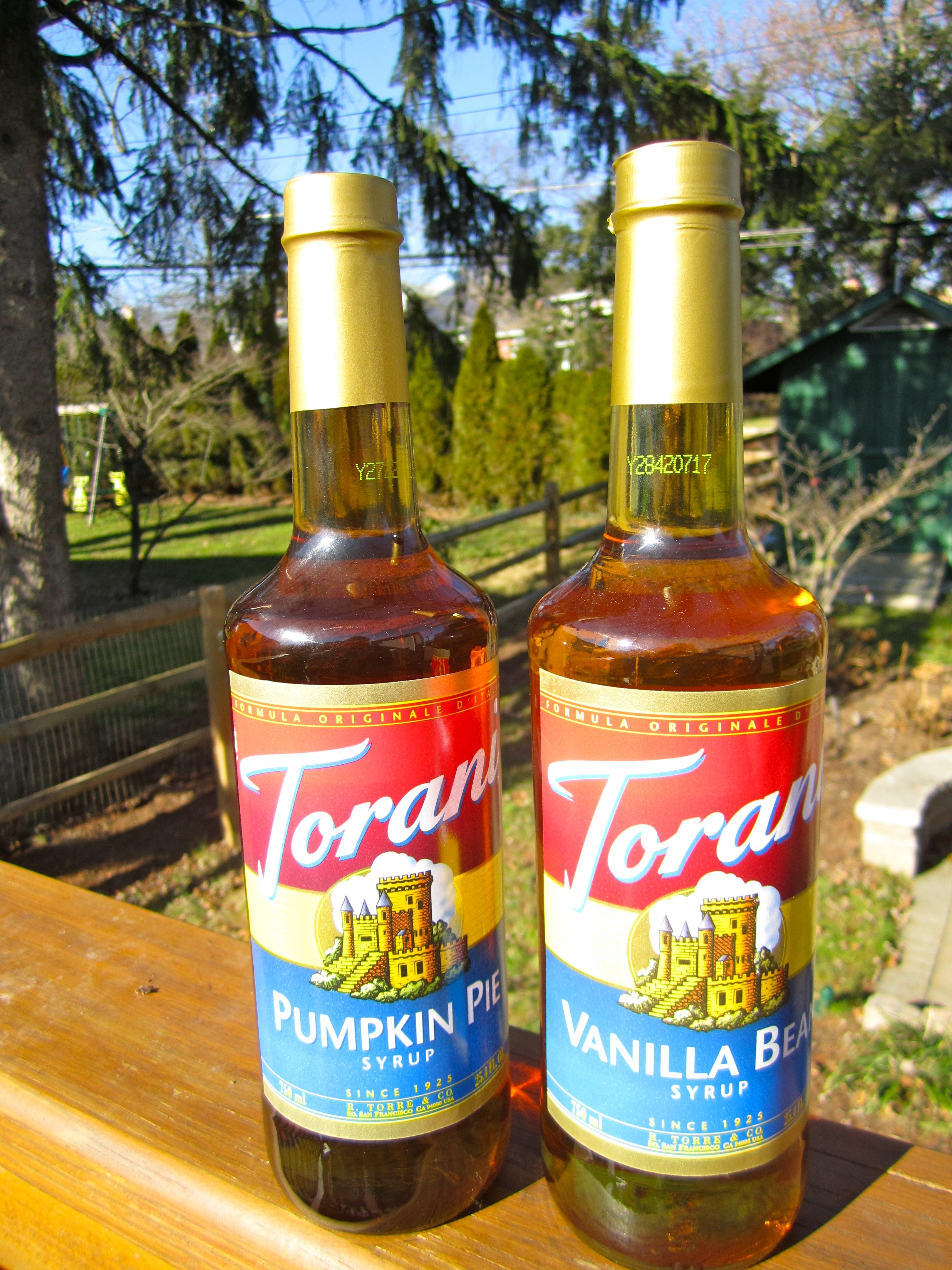 Torani Syrup Review | Blair Blogs