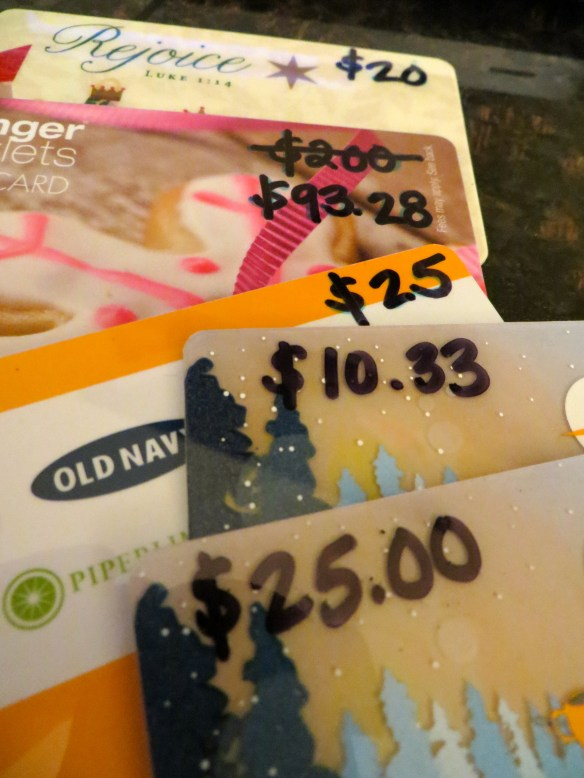 Saving Money With Gift Cards | Blair Blogs