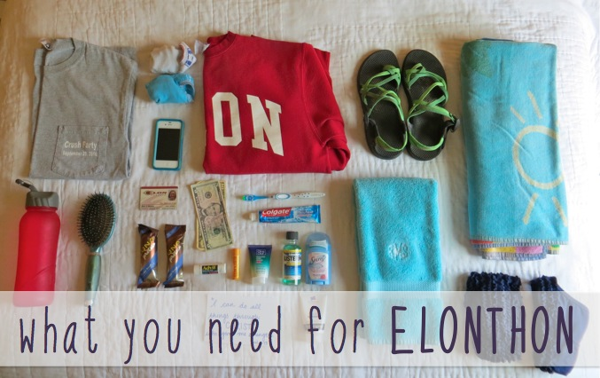 What You Need for ELONTHON | Blair Blogs
