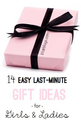 14 Easy Last-Minute Gift Ideas for Girls & Ladies   Blair Blogs