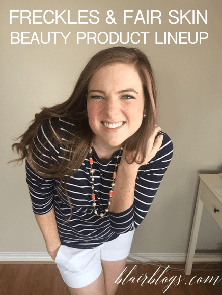 Current Beauty Product Lineup | Blairblogs.com