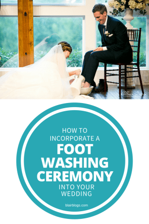 How To [gracefully] Incorporate a Foot Washing Ceremony Into Your Wedding   Blairblogs.com