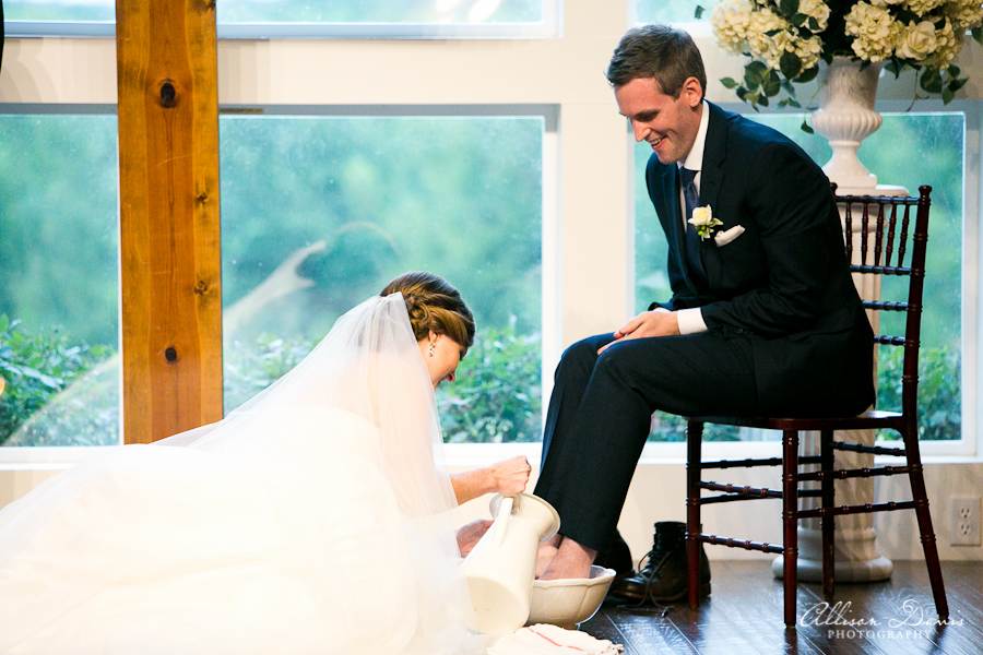 How We Incorporated Foot Washing Into Our Wedding Ceremony   Blairblogs.com
