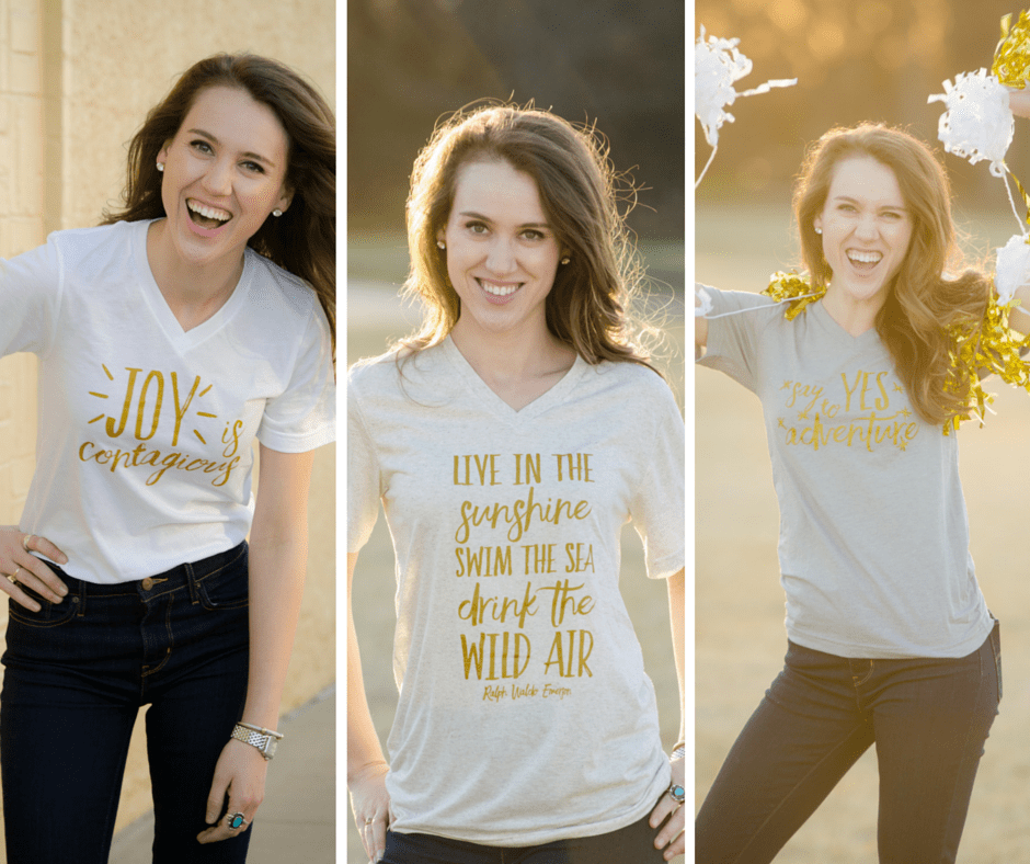 IT'S LAUNCH DAY! Introducing My T-Shirt Line!