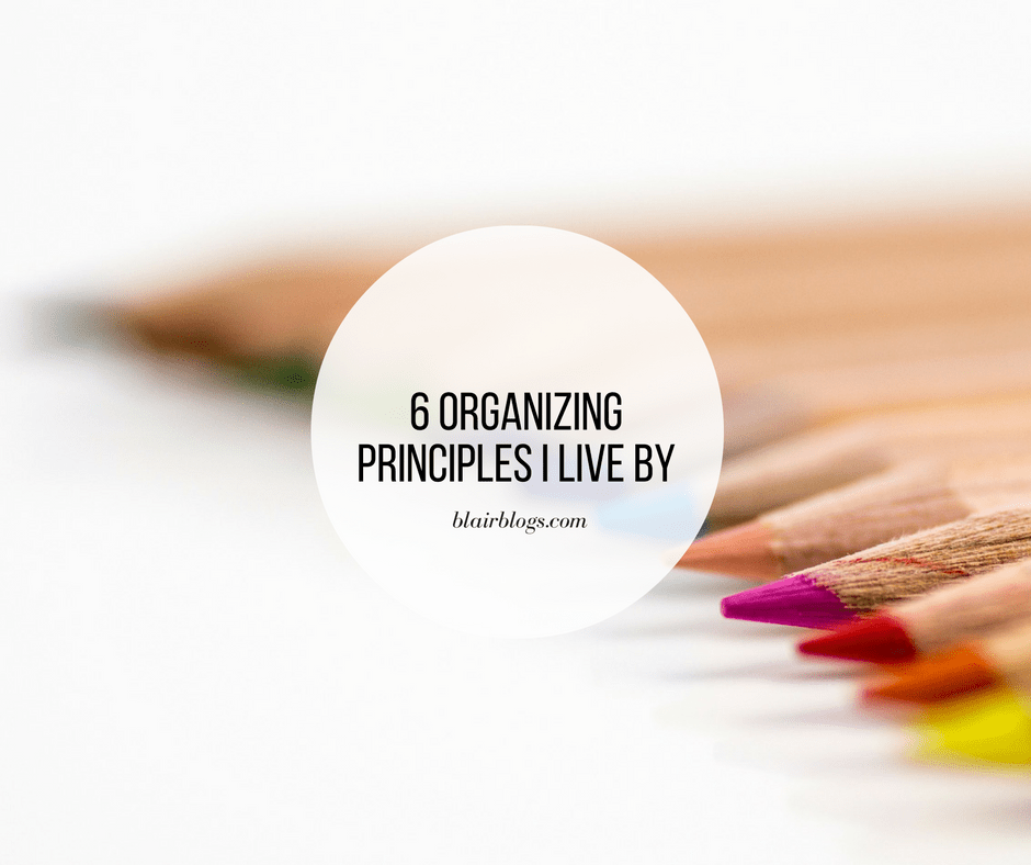 6 Organizing Principles I Live By | EP24 Simplify Everything