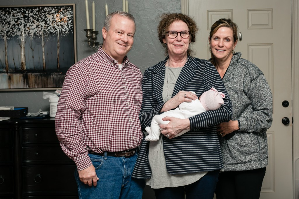 Nora's Birth Story | Unmedicated Birth Center Birth | Origins Keller | Blair Lamb Birth Story | BlairBlogs.com
