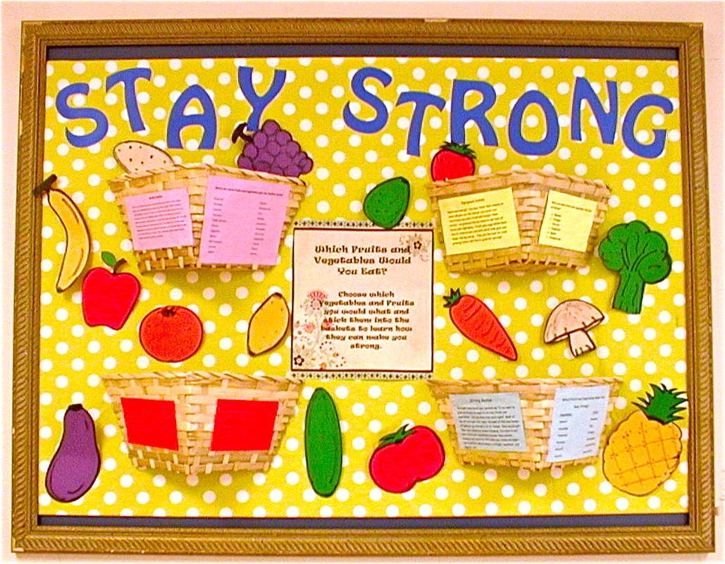 Bulletin Board Blair Harmon's Dietetics Portfolio