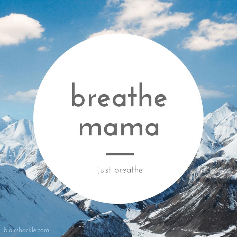breathe mama