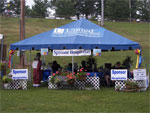 Hospitality Tent for the sponsors