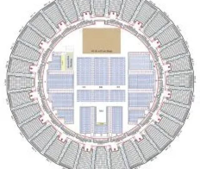 Arena Stage Show Seating Map
