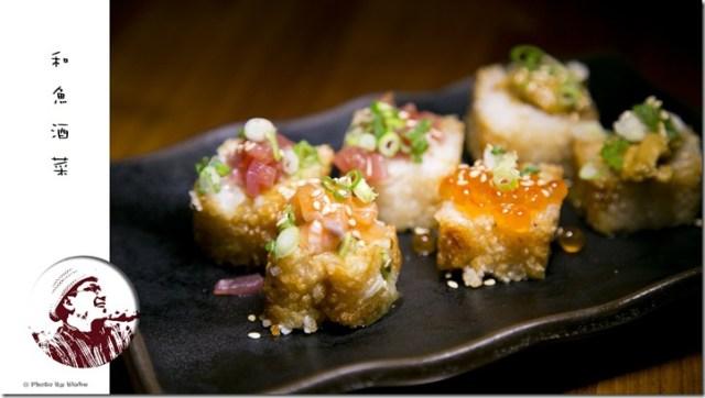 香烤综合壽司卷-和魚酒菜-信義安和站美食