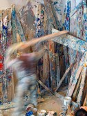 Contiguous Painting, performance. Photo: Chad Person