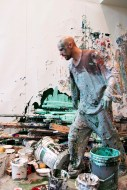Contiguous Painting, performance. Photo: Damon Sauer