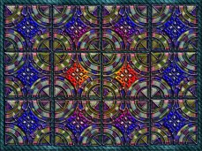 New Artist/Designer Art Release Titled; Metallic Twelve part pattern tile design. Now available on custom and customizable products at Artist on-line Galleries & Stores.