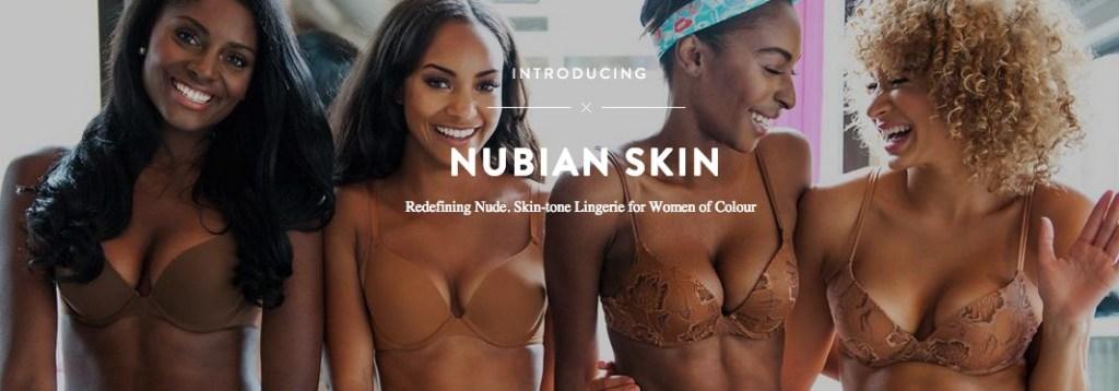 Nubian Skin, la marque de sous-vêtements pour peaux noires