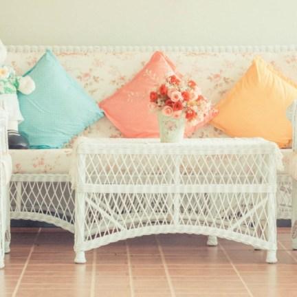 meubles en rotin