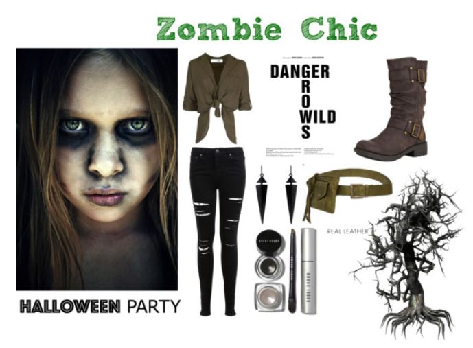 Zombie chic pour Halloween