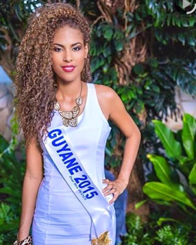 Estelle Merlin Miss Guyane/ Faceboook@Estelle-Merlin-Miss-Guyane