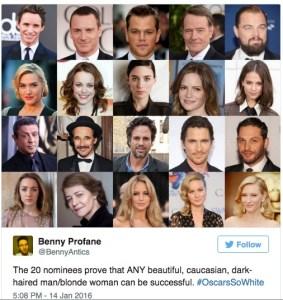 Oscars, les nominés 2016