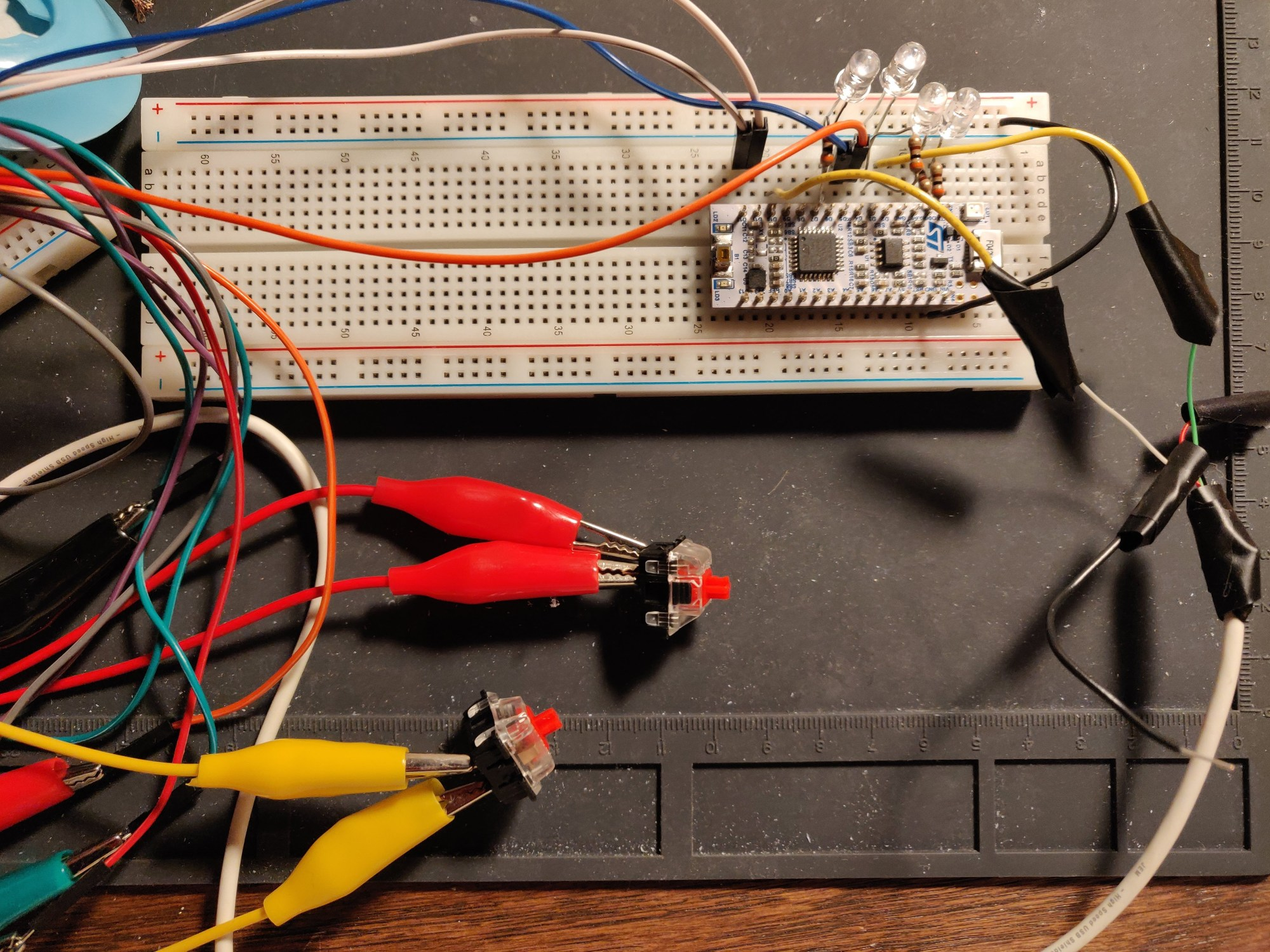 hight resolution of keebee prototype circuit