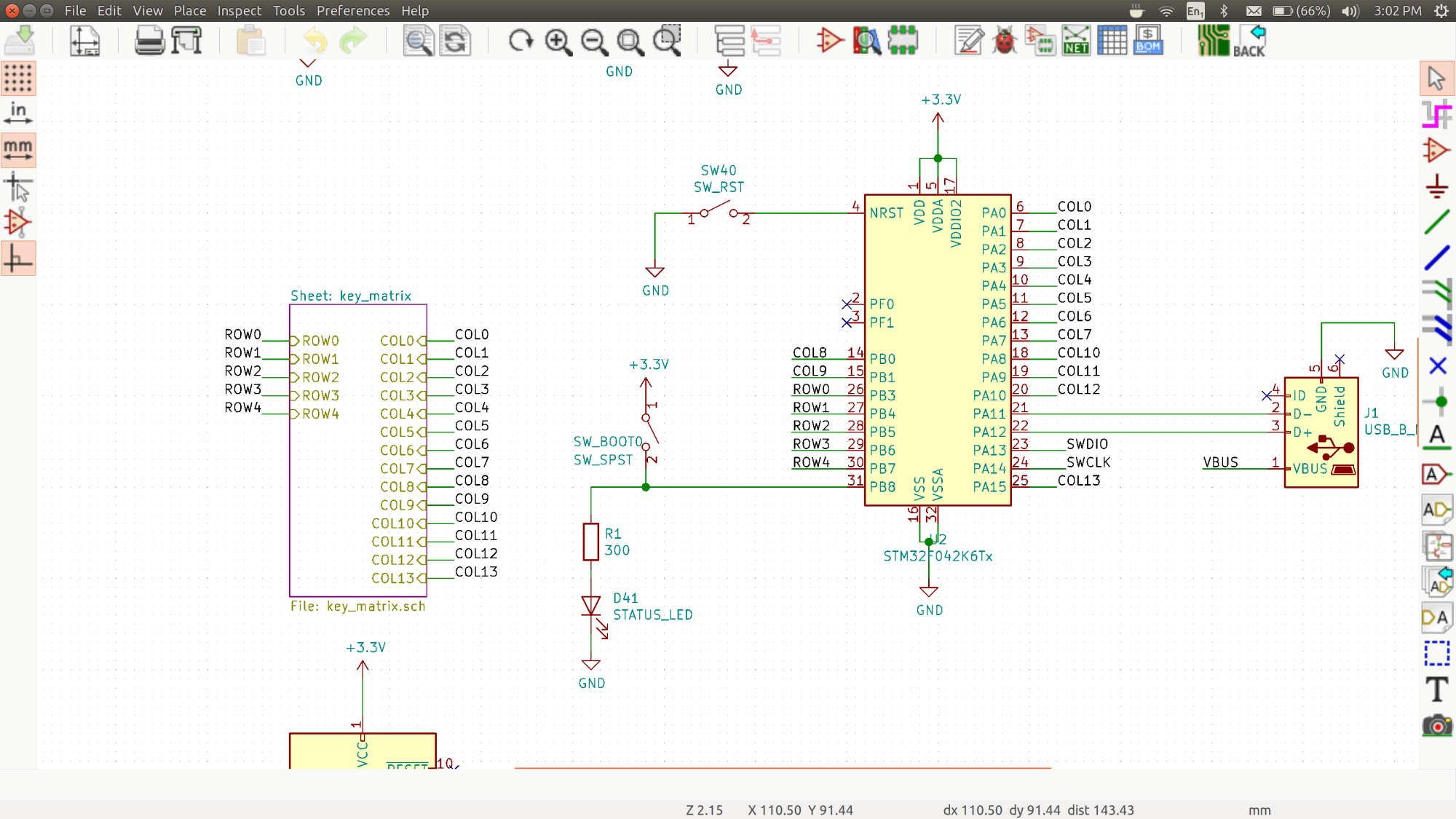 hight resolution of keebee kicad schematic