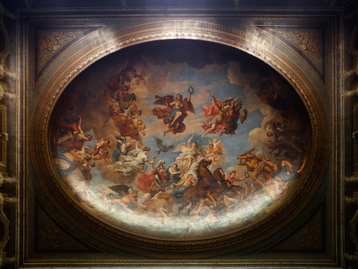 Blenheim Palace Saloon Ceiling