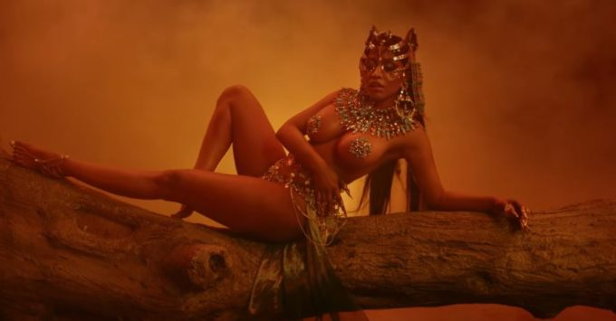 Video Premiere: Nicki Minaj - Ganja Burn