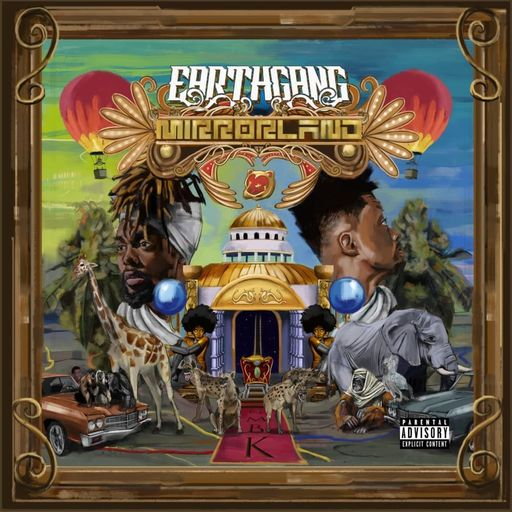 Image result for EARTHGANG – Mirrorland