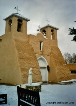 San Francisco de Asis Church, January 2000