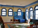 Beaumont Carnegie Library upper NW interior