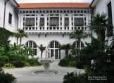 Flagler Museum courtyard