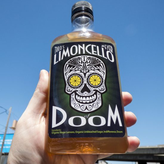 Limoncello Of Doom bottle, 2013