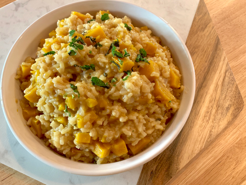 Risotto with Delicata Squash (Instant Pot)  The last time (okay, the only time) I made risotto was more than ten years ago. I remember that it was extremely labor-intensive, requiring me to stand over the pot adding broth to the slow-cooking rice, stirring forever. The end result was less than great, and I never felt the…