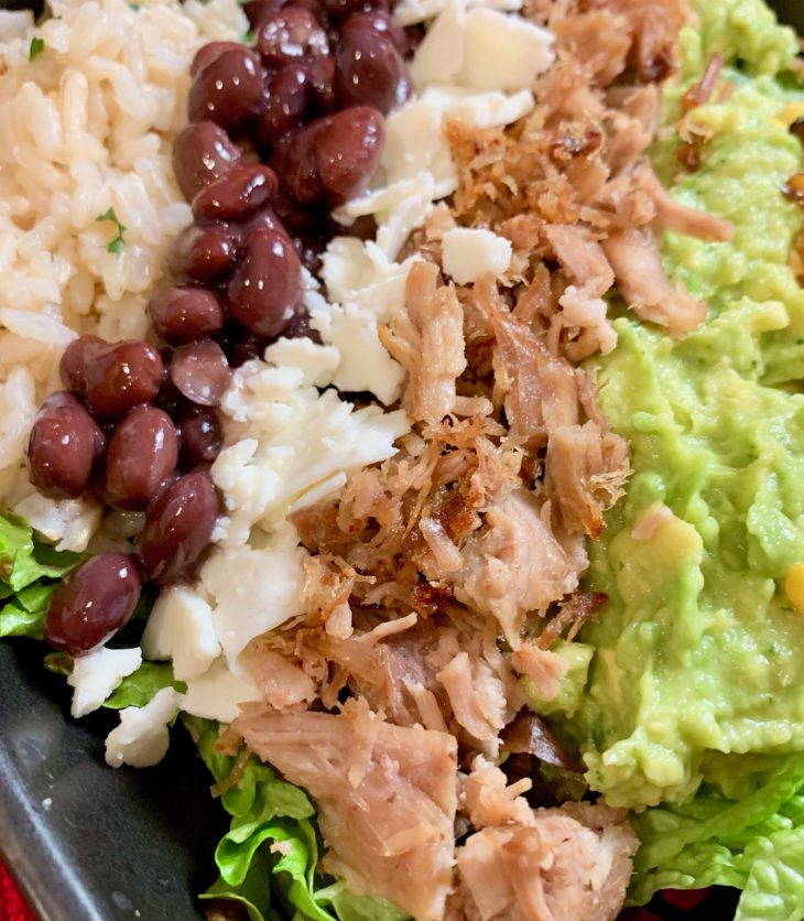 Crispy Carnitas Burrito Bowl