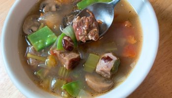 Grilled Beef Soup