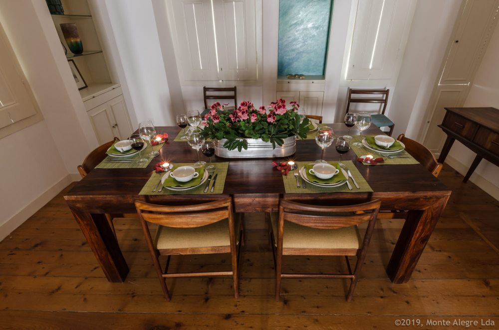 photo: Casa do Tamariz - Dining Table